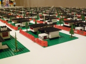 345 Modern House - a Lego suburbia, albeit flatter than the mountain neighbourhoods Coupland and I hail from.