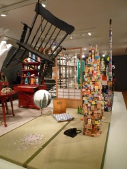 """The Brain, Coupland's installation that represents his """"brain"""" through collected bits of material culture."""